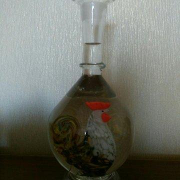 Как отмыть стеклянные бутылки внутри