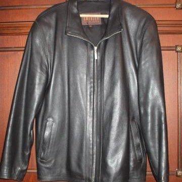 Куртка мужская кожаная. – купить в Костроме, цена 1 000 руб., дата ... fa7dd9ae227