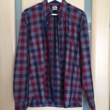Фирменная мужская рубашка новая – купить в Балашихе, цена 400 руб ... 1bb6e8d67e9