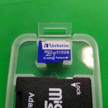 Samsung Evo 512gb micro sd card – купить в Москве, цена 8
