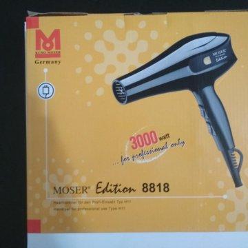 Новый ! Профессиональный фен Moser 9920  Мощный фен для сушки волос MOSER -  8818(300Bt) a3e0e249970fc