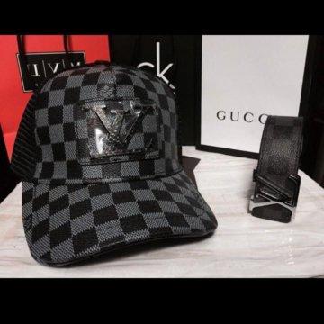 Кепка бейсболка Supreme Louis Vuitton – купить в Москве, цена 1 100 ... 24ef5d2c313