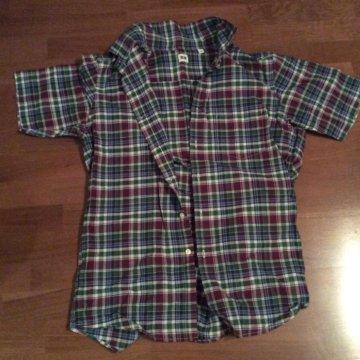 Фланелевая рубашка в клетку BURBERRY BRIT – купить в Санкт ... d18f5417c25