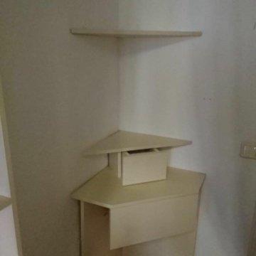 угловой туалетный столик с табуреткой купить в москве цена 7 000