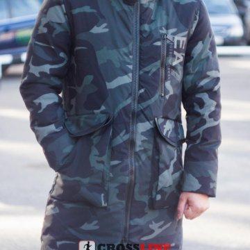 Пуховик Armani зеленый   Артикул 859 – купить в Красноярске, цена 5 ... 259eeffa9d6
