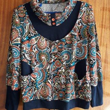 c3a8ca51cda Теплая женская кофта  Кофточка 52 размер