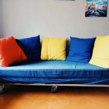 кровать икеа круглая купить в краснознаменске цена 3 600 руб