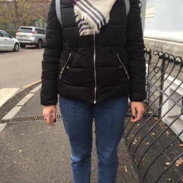 Куртка женская ZARA размер М, б у – купить в Москве, цена 800 руб ... beaa1f9ce7a