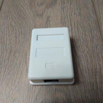 62dd3db51936 Розетка rj45 и rj11 под Krone, модуль amp – купить в Москве, цена ...
