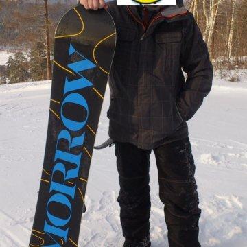 d96acf209a03 Сноуборд с креплениями – купить в Ангарске, цена 5 500 руб., дата ...