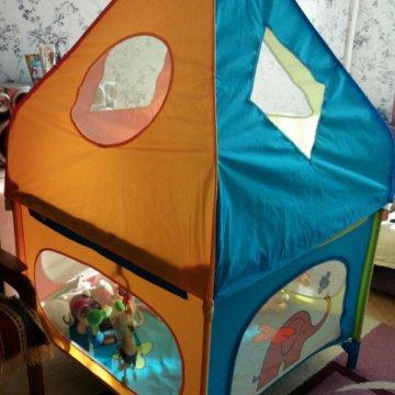 Манеж-кровать Jetem Quadro Crab House – купить в Королеве