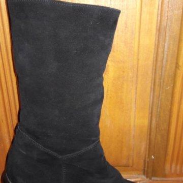 8ee681d24a72 Зимние сапоги RESPECT из кожи на натуральном меху. – купить в ...