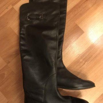 Новые кожаные сапоги mascotte на подкладке 👢 – купить в Химках ... 75e55cdd5f7