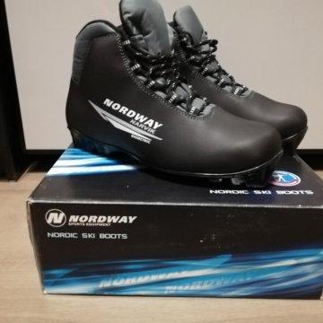 Ботинки лыжные беговые VISU р43 новые – купить в Щербинке, цена 1 ... 493cbf8af2c