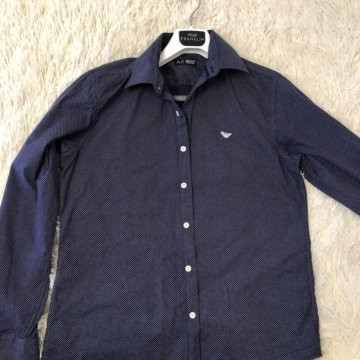 Рубашка Armani Jeans – купить в Санкт-Петербурге, цена 1 000 руб ... ec7f7739cc2