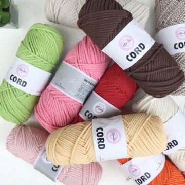 хлопковый шнур для вязания купить в краснодаре цена 400 руб