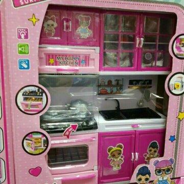 детская кухня для кукол барби купить в москве цена 1 550 руб