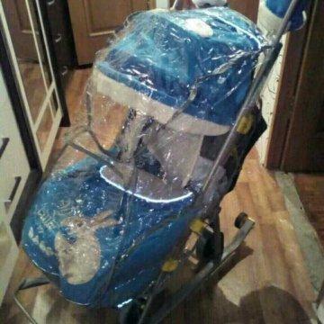 купить дождевик на санки коляску ника