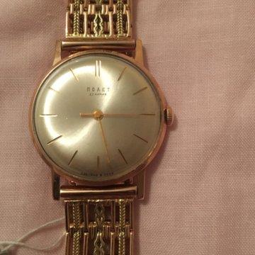 a8e57b6f Золотой браслет на часы ссср 583. – купить в Москве, цена 2 200 руб ...