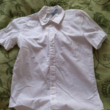 04b18664099da62 Рубашка на мальчика рост 152 – купить в Химках, цена 100 руб., дата ...