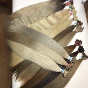 Виз из крабе из натуральных волос