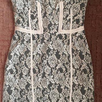 1244f46f531c125 ... Кружевное платье Karen Millen оригинал