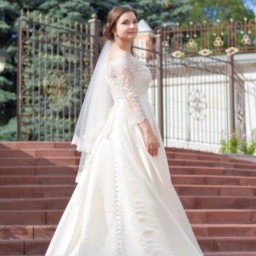 35f6e17556a76f3 Свадебное платье Biruta от Gabbiano – купить в Брянске, цена 10 000 ...
