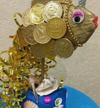 стихи к подарку золотая рыбка из денег оформительский тренд сочетает