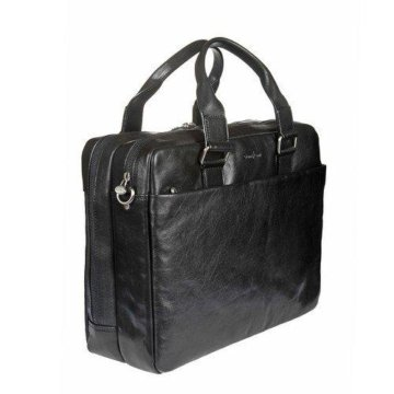 990380dc8bf8 Кожаный рюкзак Gianni Conti 913159 black; Кожаная бизнес-сумка Gianni Conti  911265 black