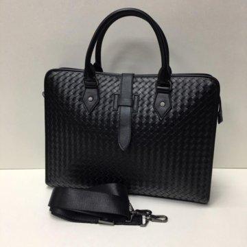 b94b9dcb30d1 Мужская наплечная сумка Bottega veneta; Мужская сумка Bottega Veneta  (натуральная кожа)