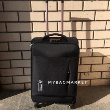 477dbd9ced42 Качественные часы Longines /Time116; Тканевый чемодан со съемными колесами  чёрный