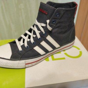 ec16fa07 Кеды Adidas Neo 3 Stripes – купить в Москве, цена 2 000 руб ...