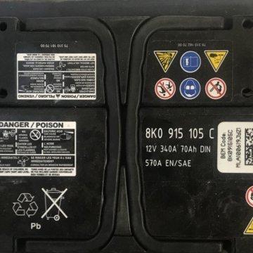 Аккумулятор для VAG Varta – купить в Подольске, цена 2 500