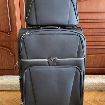 6480ef0cf7d1 Новый большой дорожный чемодан American Tourister; Дорожный набор (чемодан  +сумка) Antler (Англия)
