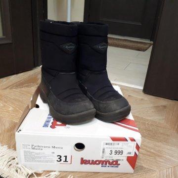 0a9beb402 Детские зимние ботинки Kuoma Crosser – купить в Москве, цена 1 800 ...