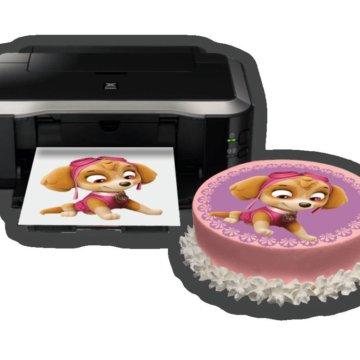 Печать сахарной картинки балашиха