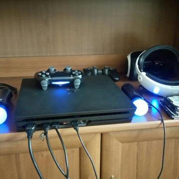 Sony PlayStation 4 Pro тихая 1000 Gb ps4 – купить в