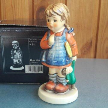 Vintage German Goebel Bisque Figurine, Nude Woman