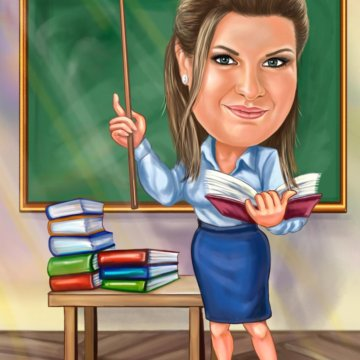 Картинка учителю русского