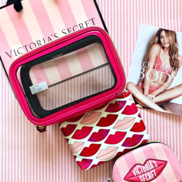 Розовая косметичка эйвон косметика натура сиберика купить в спб