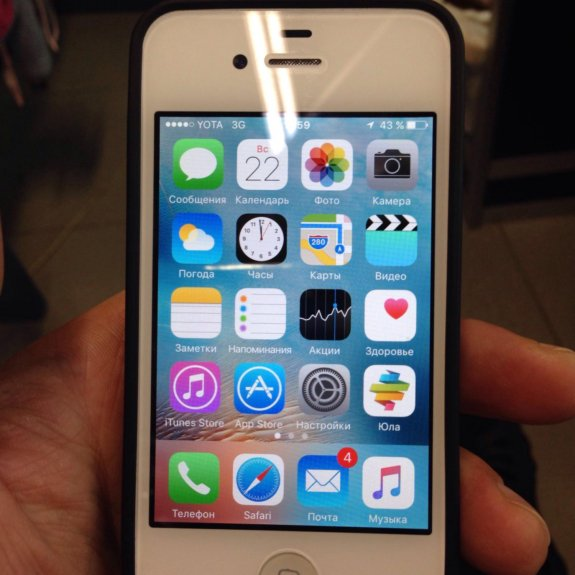 Смартфон Apple iPhone 4 цена купить Айфон 4 в Москве