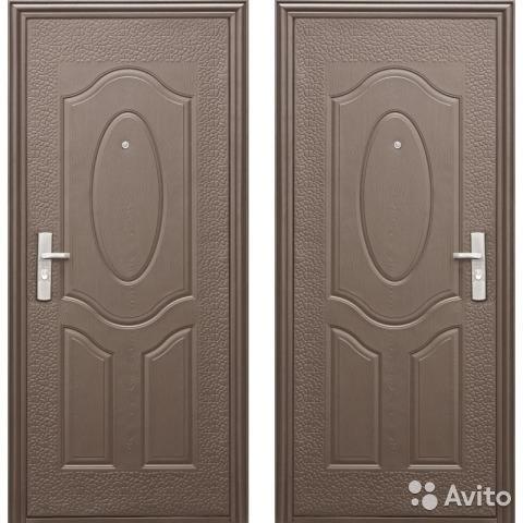 металлические двери эконом одинцово