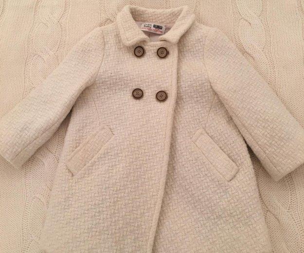 Пальто zara. Фото 4.