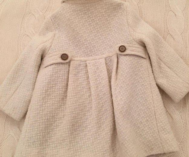Пальто zara. Фото 2.