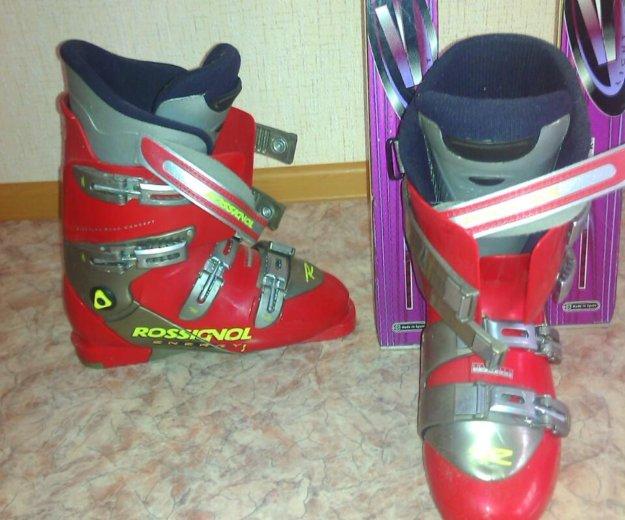 Горные лыжи  ,ботинки, палки. Фото 4. Магнитогорск.