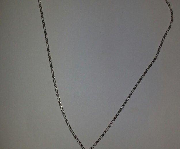 Цепочка серебряная с нептуном, длина 40 см. Фото 2. Оренбург.