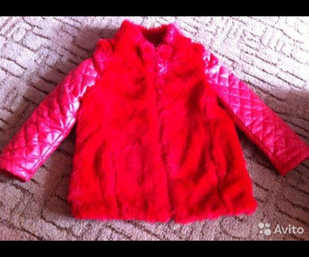Куртка на девочку. Фото 1. Прохладный.