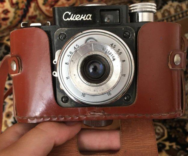 Фотоаппарат смена и фотоэкспонометр союз 2 продам. Фото 1. Москва.