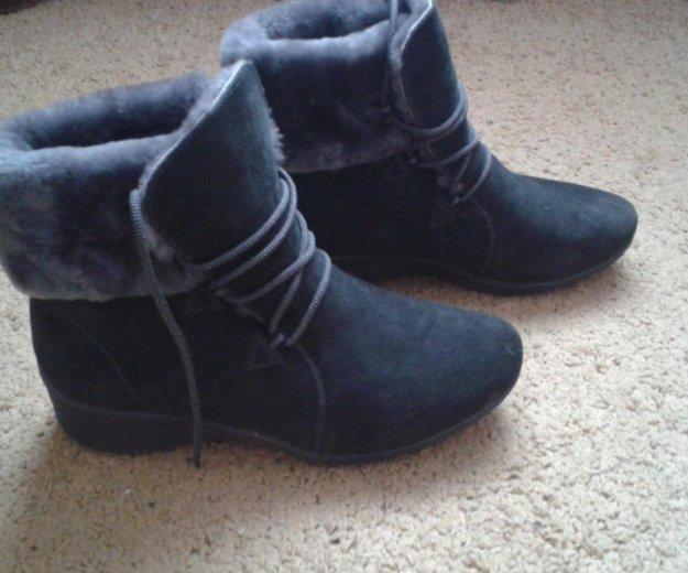 Зимние ботинки новые. Фото 1. Мегион.