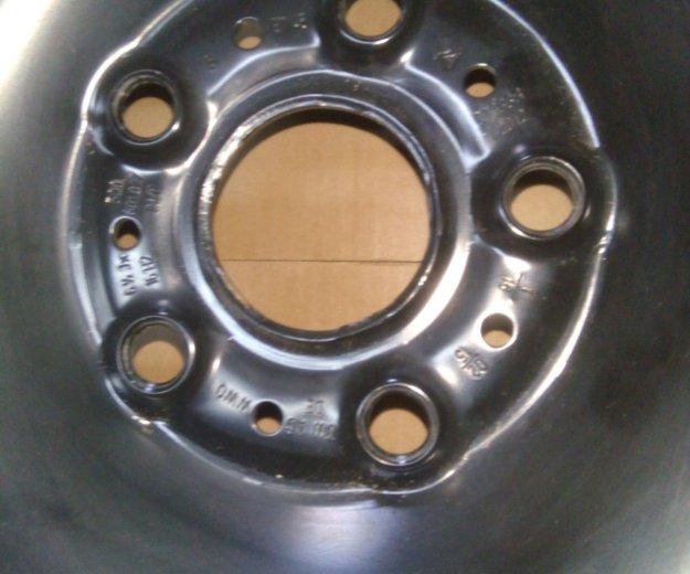 Штампованные диски на шкоду октавию а7. Фото 2.